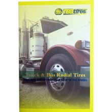 "TBBtires Product Brochure 7"" X 10"""